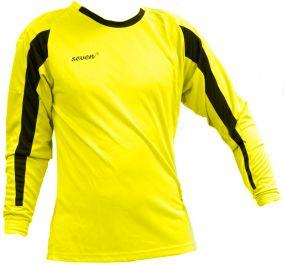 Вратарский свитер Seven желтый